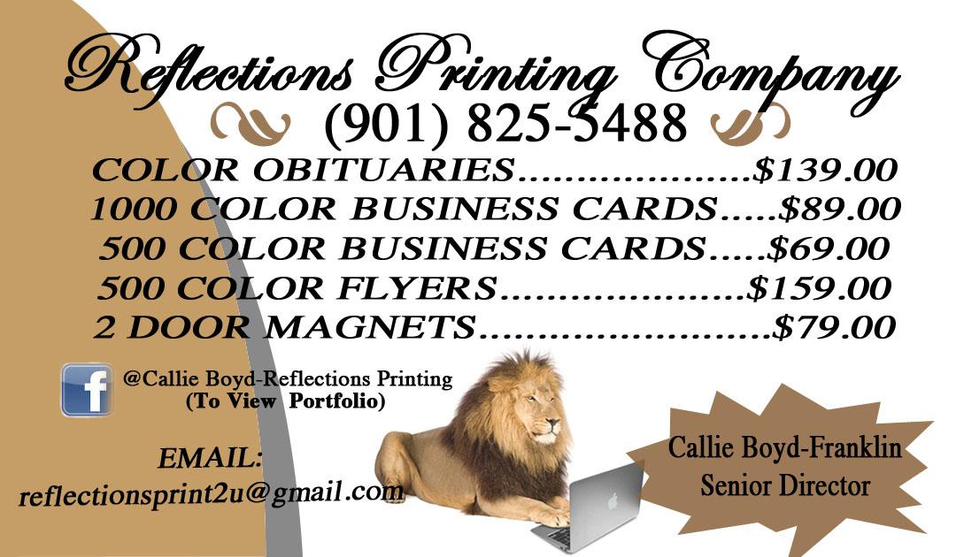 Business Cards-MEMPHIS, TN